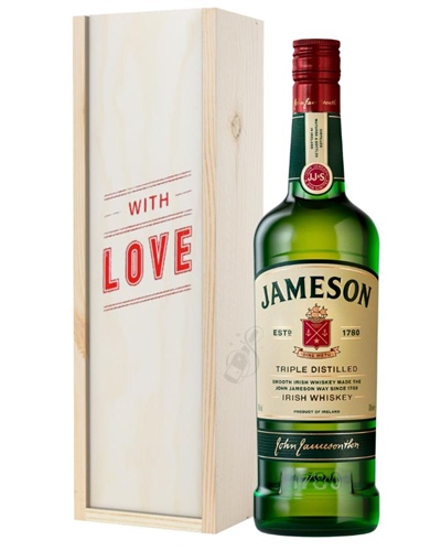 Jameson Irish Whiskey Valentines Day Gift