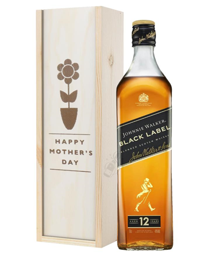 Johnnie Walker Black Label Whisky Mothers Day Gift