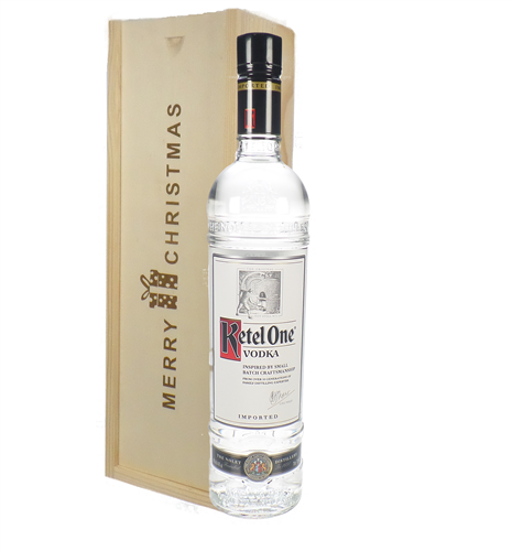 Ketel One Vodka Christmas Gift In Wooden Box