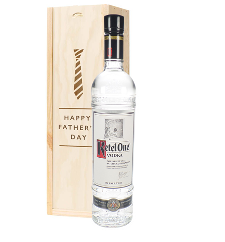 Ketel One Vodka Fathers Day Gift In Wooden Box