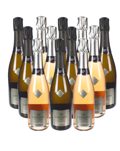 Langlois Brut Sparkling Mixed Wine Case