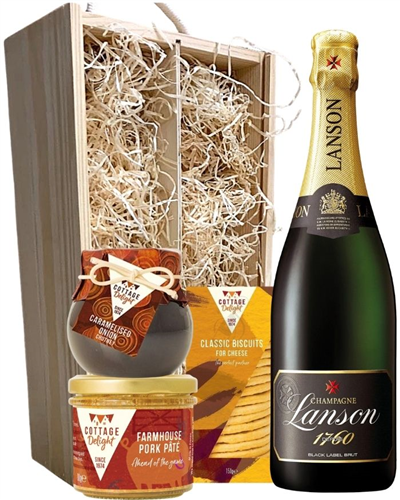 Lanson Champagne & Gourmet Food Gift Box