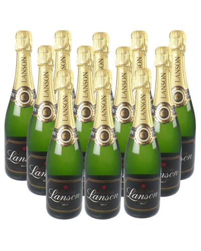 Lanson Champagne Case