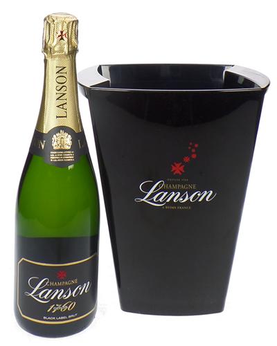 Lanson Champagne Ice Bucket