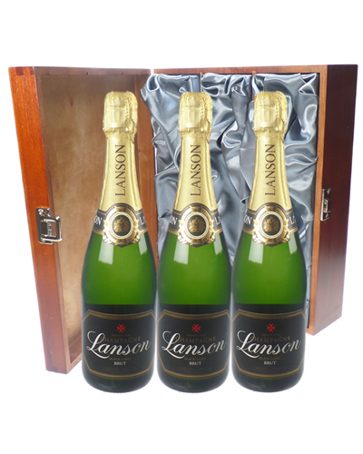 Lanson Champagne Triple Luxury