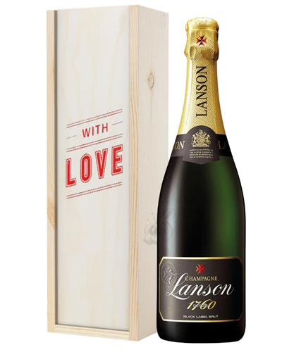 Lanson Champagne Valentines Day Gift