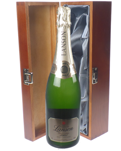 Lanson Gold Label Champagne Luxury Gift