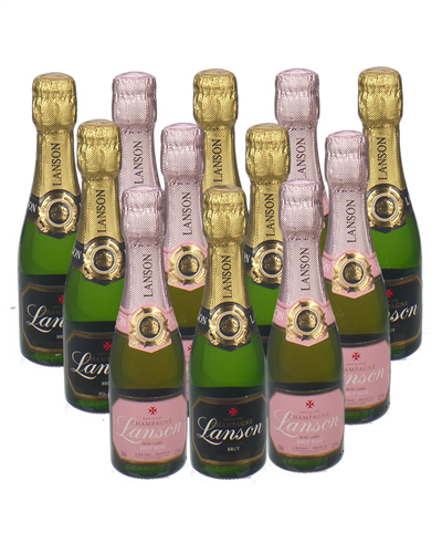 Lanson Mixed Champagne Mini Quarter Case