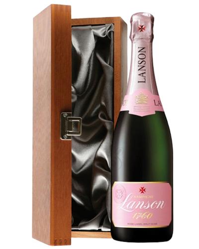 Lanson Rose Champagne Luxury Gift