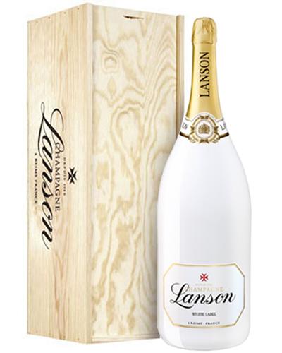 Lanson White Label Champagne Methuselah