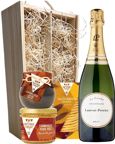 Laurent Perrier Champagne & Gourmet Food Gift Box