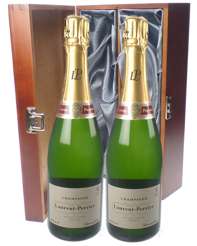 Laurent Perrier Champagne Twin Luxury Gift