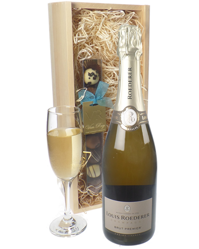 Louis Roederer Champagne and Chocolates Gift Set