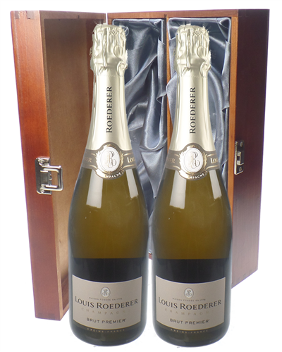 Louis Roederer Champagne Twin Luxury Gift