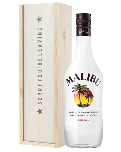 Malibu Sorry You Are Leaving Gift
