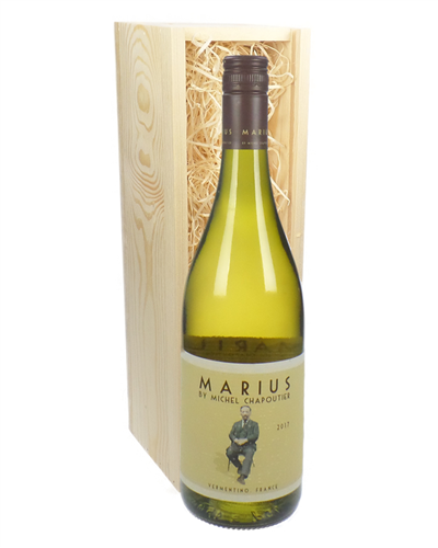 Marius White by Michel Chapoutier Wine Gift