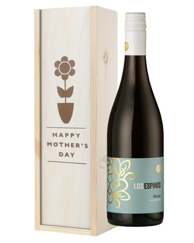 Merlot Red Wine Mothers Day Gift