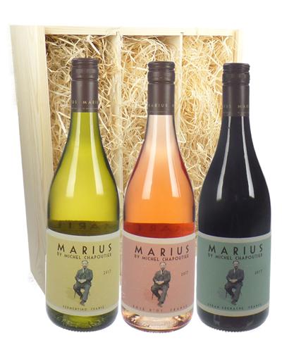 Michel Chapoutier Marius Mixed Triple Wine Gift