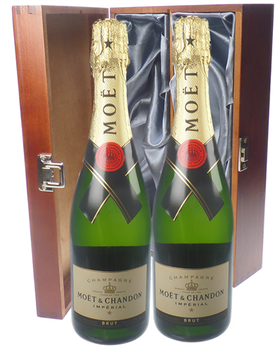 Moet et Chandon Champagne Twin Luxury Gift