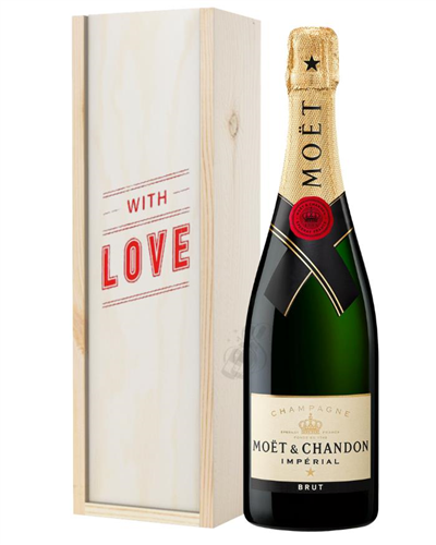 Moet et Chandon Champagne Valentines Day Gift