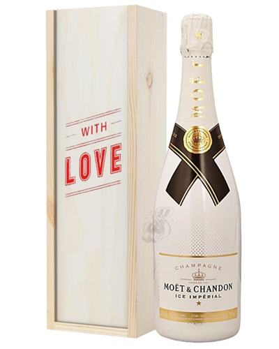 Moet Ice Imperial Champagne Valentines Day Gift