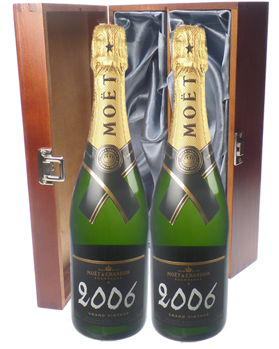 Moet Vintage Champagne Twin Luxury Gift