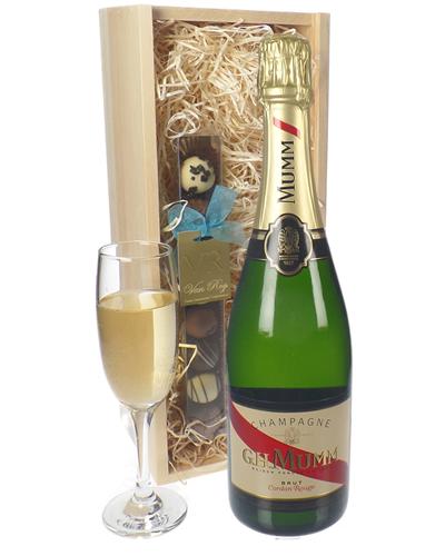 Mumm Champagne and Chocolates Gift Set