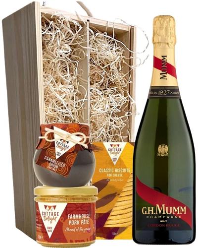 Mumm Champagne & Gourmet Food Gift Box