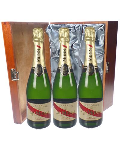 Mumm Cordon Rouge Champagne Triple Luxury