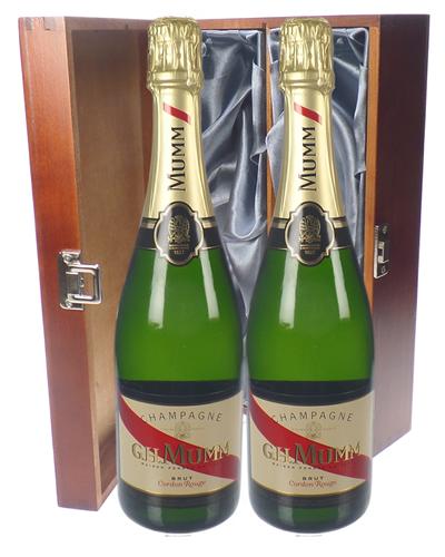 Mumm Cordon Rouge Champagne Twin Luxury Gift