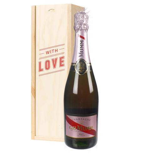 Mumm Rose Champagne Valentines Day Gift