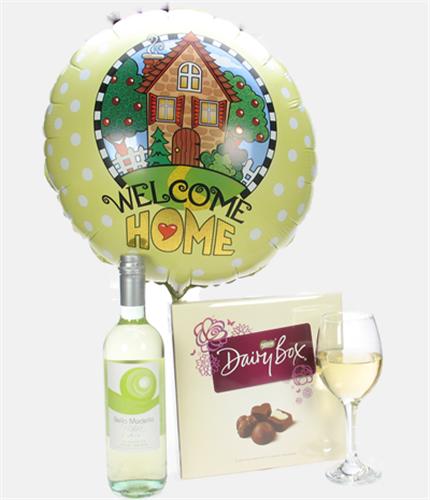 New Home Gift White Wine