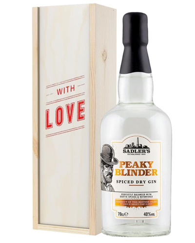 Peaky Blinder Gin Valentines Day Gift