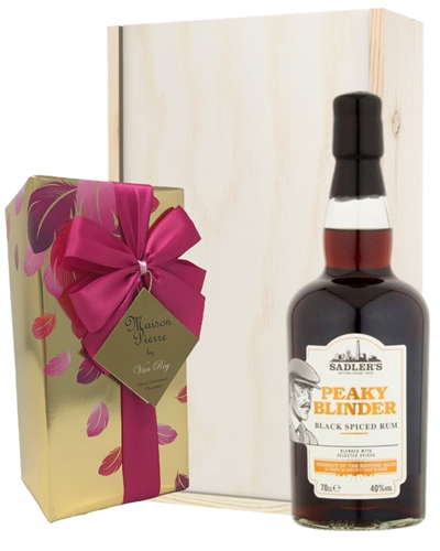 Peaky Blinder Spiced Rum And Chocolates Gift Set