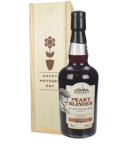 Peaky Blinder Spiced Rum Mothers Day Gift