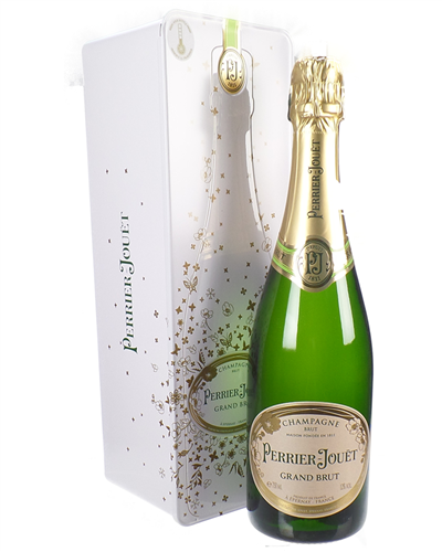 Perrier Jouet Champagne Tin Gift Box