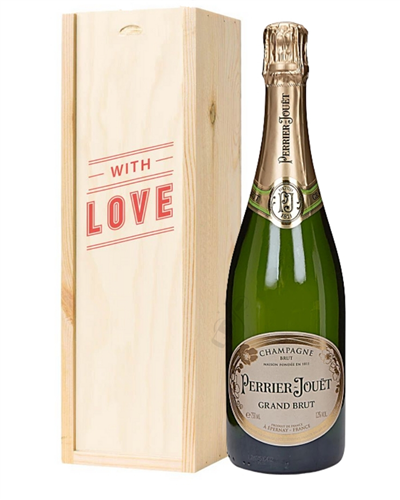Perrier Jouet Champagne Valentines Day Gift