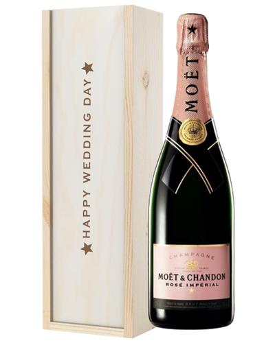Pink Champagne Wedding Gift