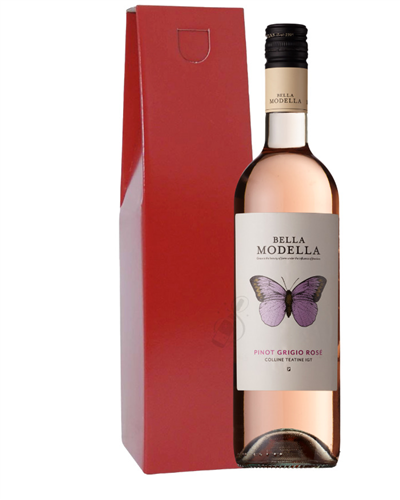 Pinot Grigio Rose Wine Gift Box