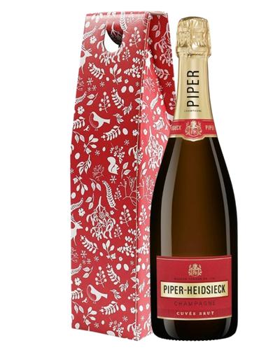 Piper Heidsieck Champagne Christmas Gift Box