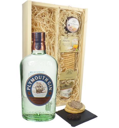 Plymouth Gin And Pate Gift