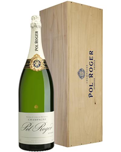 Pol Roger Champagne Salmanazar