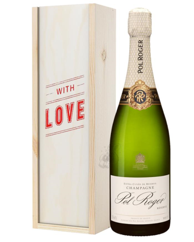 Pol Roger Champagne Valentines Day Gift