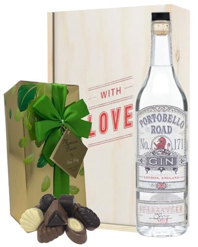 Portobello Road Gin And Chocolates Valentines Gift