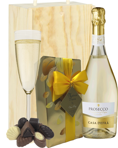 Prosecco and Chocolates Gift Box
