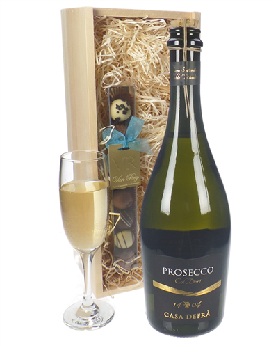 Prosecco & Chocolates Gift Set (Frizzante)