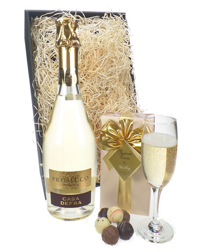 Prosecco And Chocolates Gift Tray