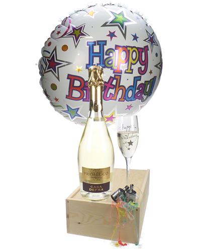 Prosecco Birthday Flute Gift