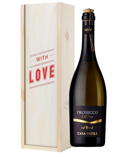 Prosecco Frizzante ( With Love ) Gift Box