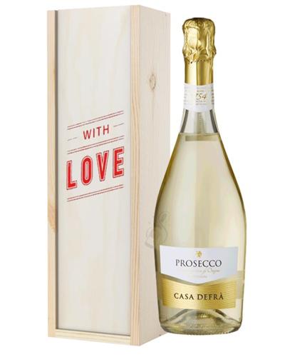 Prosecco Spumante ( With Love ) Gift Box
